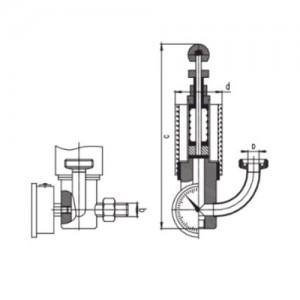 Шпунт-аппарат V= 0-500 hl ДН-20 AISI 304