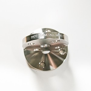 Фланец плоский Ду15 (18,2)- Ру 10 бар- AISI304L