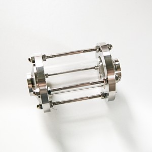 Смотровой диоптр трубный под сварку Ду50 AISI304L