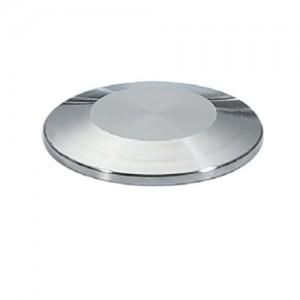 Заглушка для соединения КЛАМП Ду50 AISI316L полированная