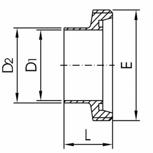 Штуцер резьбовой Ду80 DIN11851 AISI304