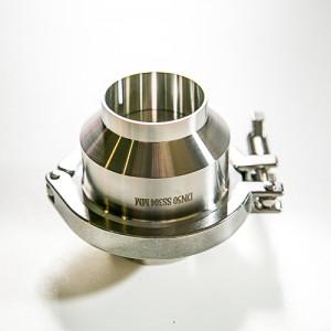 Клапан обратный Ду25 сварка/сварка AISI304L полированный